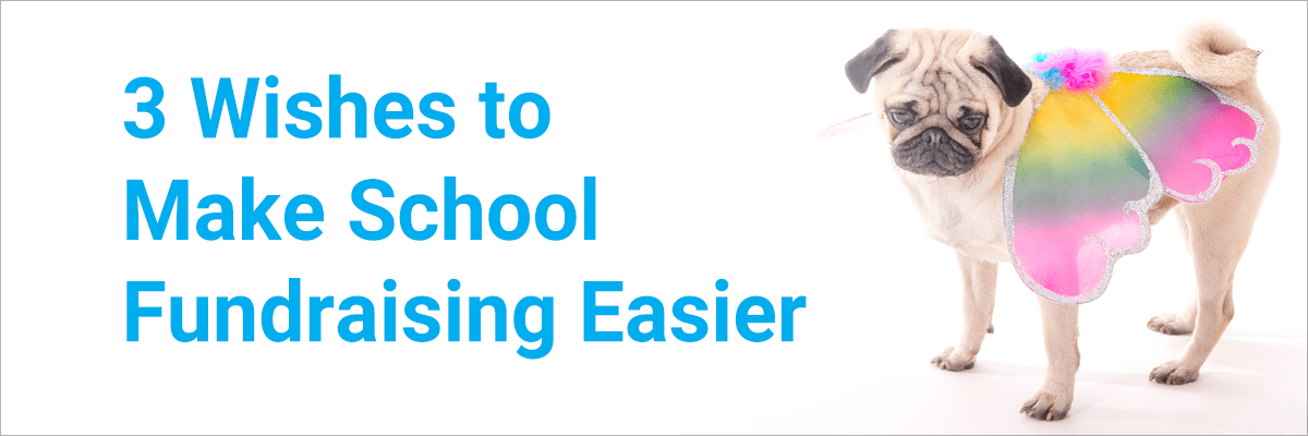 3 Wishes to Make School Fundraising Easier